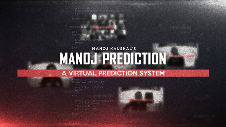 Manoj Prediction - Virtual Prediction System by Manoj Kaushal (Full Download High Quality over 9GB)