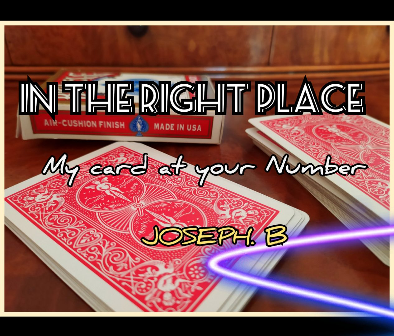 In The Right Place by Joseph B (MP4 Video Download)