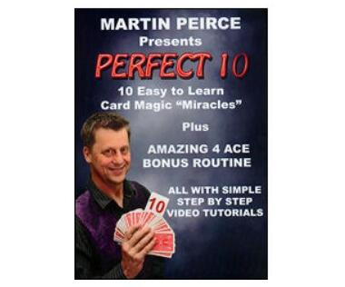Martin Peirce - Perfect 10 (Video Download)