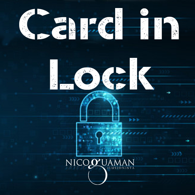 Card in Lock by Nicolas Guga (MP4 Video Download)