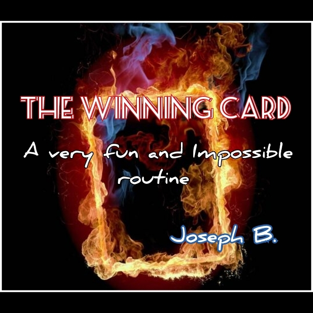THE WINNING CARD By Joseph B. (Instant Download)