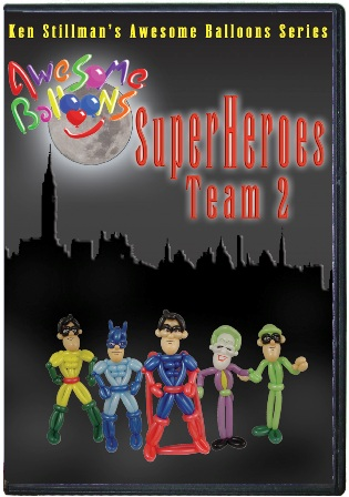 SuperHeroes Team 2 by Ken Stillman (video download)