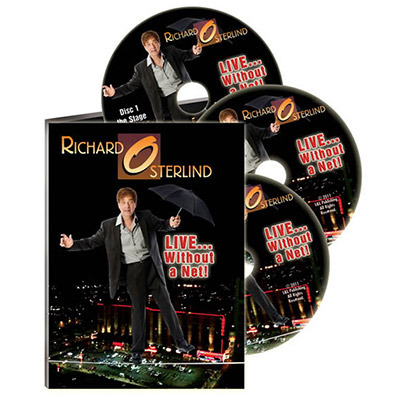 Live Without A Net by Richard Osterlind (3 DVD Set)
