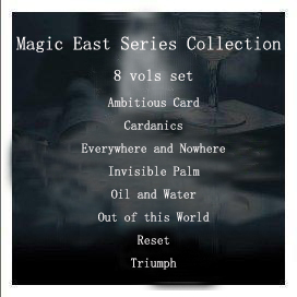 Magic East Series Collection 8 vols set (Ambitious Card & Cardanics & Everywhere and Nowhere & Invisible Palm & Oil and Water & Out of this World & Reset & Triumph)