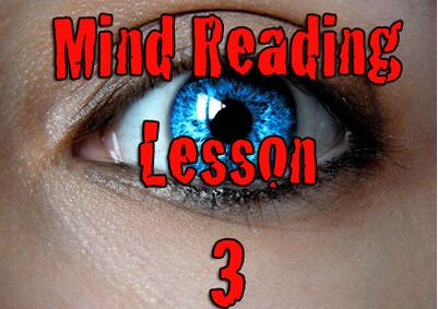 Kenton Knepper - Mind Reading Lesson 3