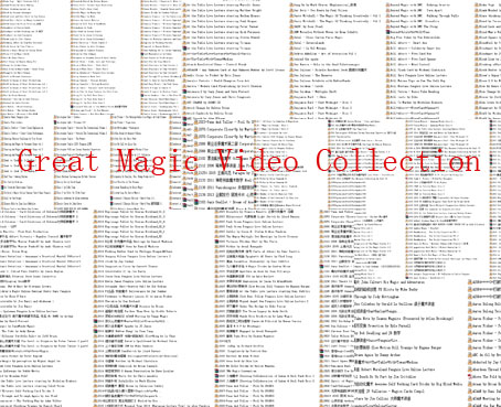 Great Magic Video Collection