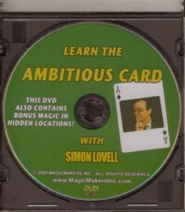 Simon Lovell - Learn The Ambitious Card With Simon Lovell