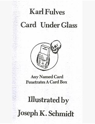 Karl Fulves - Card Under Glass PDF