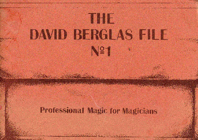 Peter Warlock - The David Berglas File 1