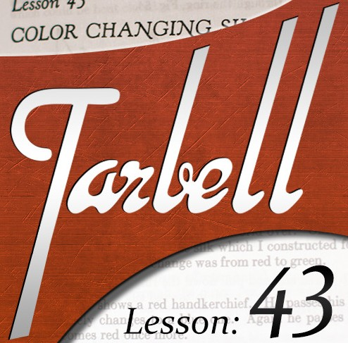 Tarbell 43: Color Changing Silks
