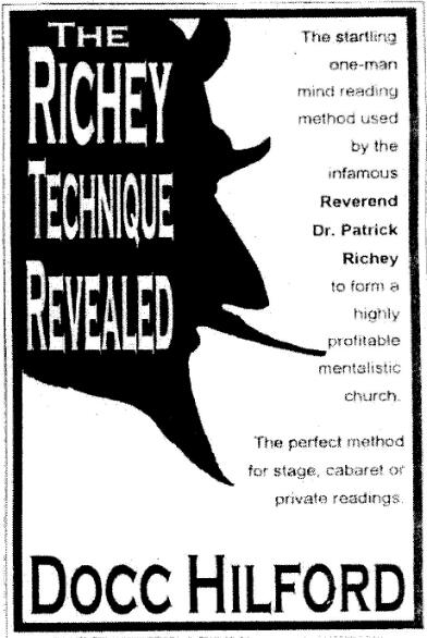 Docc Hilford - The Richey Technique Revealed