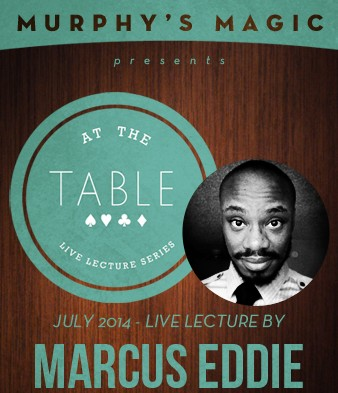 At the Table Live Lecture - Marcus Eddie