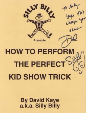 David Kaye - How To Perform The Perfect Kid Show Trick