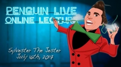 Sylvester the Jester Penguin Live Online Lecture