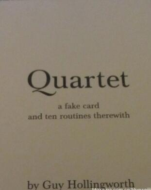 Guy Hollingworth - Quartet book