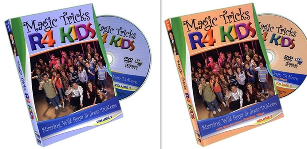 Magic Tricks R 4 Kids 2 Volume by Will Roya & Joan DuKore