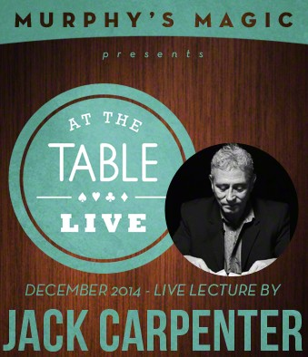 At the Table Live Lecture - Jack Carpenter