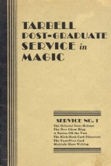 Tarbell Post-Graduate Service in Magic No.1 by Harlan Tarbell PDF