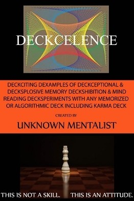 Unknown Mentalist - Deckcelence