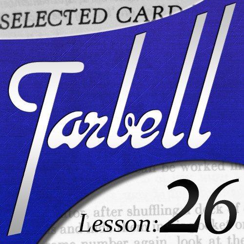 Dan Harlan - tarbell 26 Selected Card Mysteries