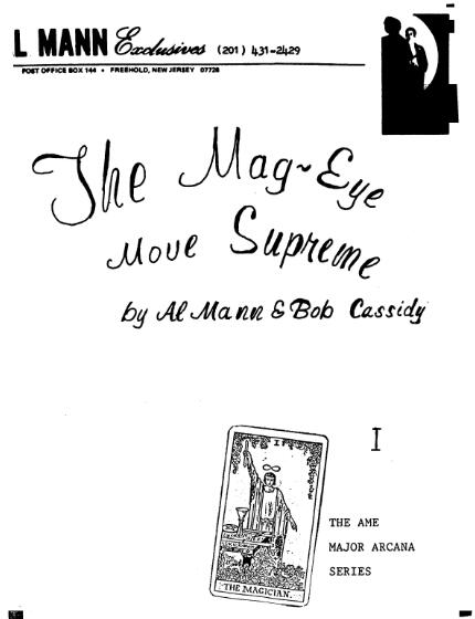Al Mann - Mag Eye Move Supreme