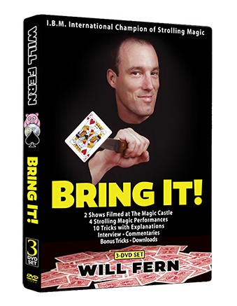 Bring It! by Will Fern (3 DVD Set, ISO files)