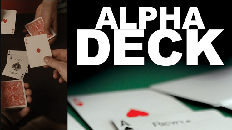 Alpha Deck (Online Instructions) by Richard Sanders