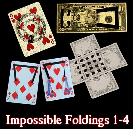 Impossible Foldings 1-4
