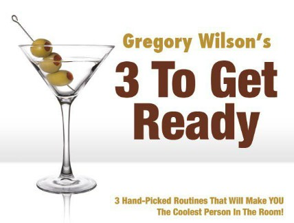 Gregory Wilson - 3 To Get Ready