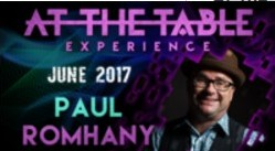 At The Table Live Lecture starring Paul Romhany June 7th 2017