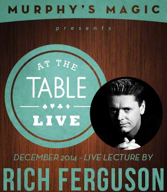 At the Table Live Lecture - Rich Ferguson