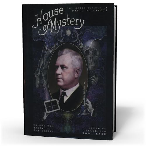 Teller & Todd Karr House Of Mystery 2 volumes