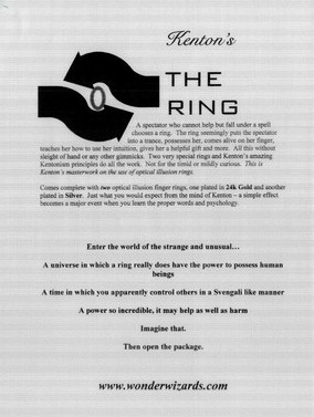 Kenton Knepper - The Ring