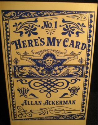 Allan Ackerman - Here's My Card