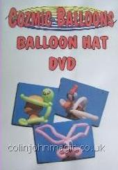 Cozmic Balloons Balloon Hats (Video Download)