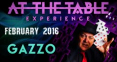 At the Table Live Lecture Gazzo