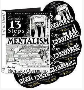 Richard Osterlind - 13 Steps To Mentalism(1-6)