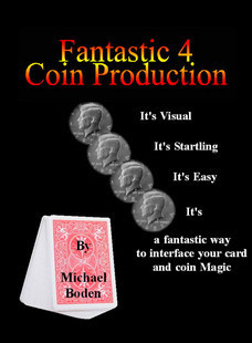 Michael Boden - Fantastic 4 Coin Production