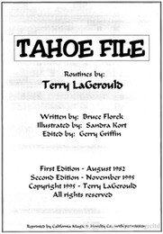 Terry Lagerould - Tahoe File