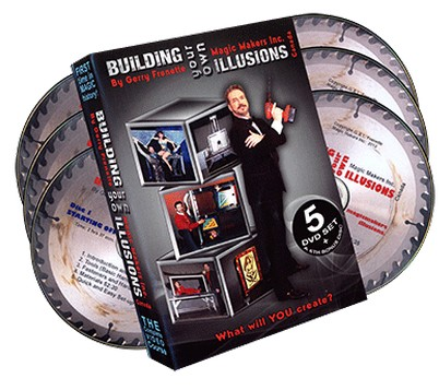 Building Your Own Illusions Part 1 The Complete Video Course by Gerry Frenette (6 Disc Set)