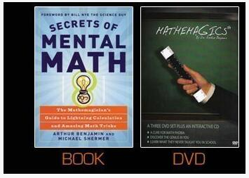 Arthur Benjamin - Secrets of Mental Math (PDF + videos + audios complete set)