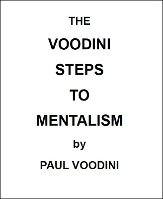 Paul Voodini - The Voodini Steps to Mentalism PDF