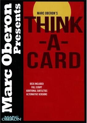 Marc Oberon - Think-a-card