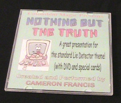 Cameron Francis - Nothing But The Truth Card