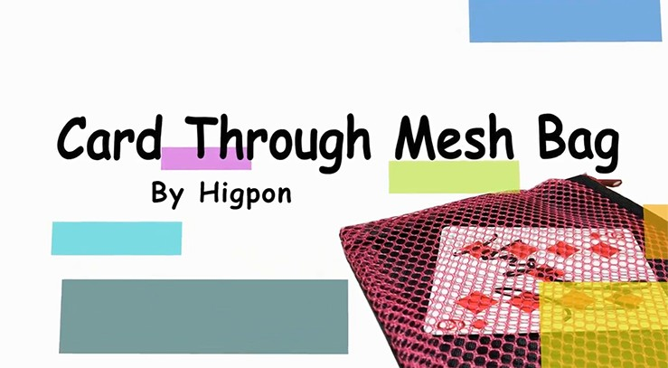 Card Through Mesh Bag by Higpon - Download now