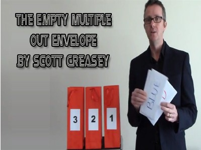Scott Creasey - The Empty Multiple Out Envelope
