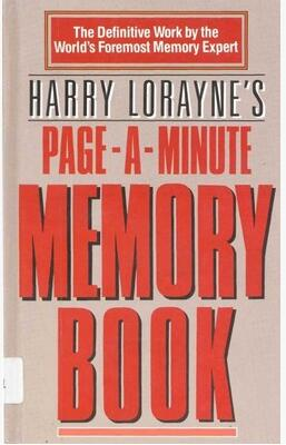 Harry Lorayne - Page a Minute Memory Book