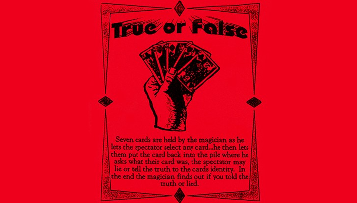 True or False by Ickle Pickles