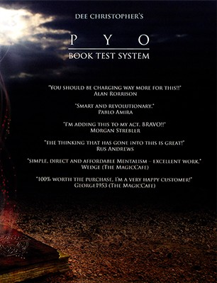 PYO (data CD and DVD) by Dee Christopher