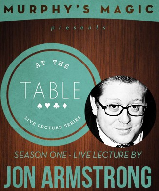 At the Table Live Lecture - Jon Armstrong
